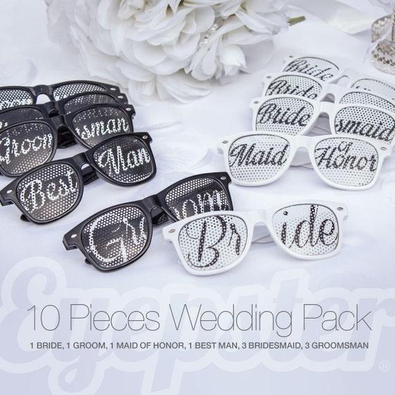 bride white retro party sunglasses bcdvmn