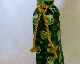 St. Patricks Day   Wine Bag