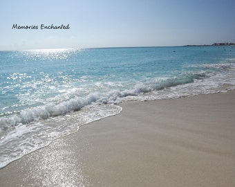 Beautiful Beach in Cancun Photo 4x6, 5x7 and 8x10