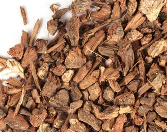 White Oak Bark - 4 oz. wildcrafted, cut & sifted