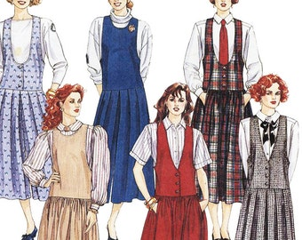 McCall's Sewing Pattern 4967 Misses Jumper  Size:  D  12-14-16  Uncut