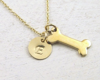 dog necklace, dog bone necklace, dog memorial necklace, pet memorial necklace, favorite pet necklace, personalized pet necklace,