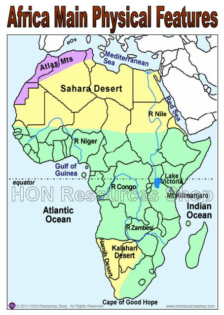 map of physical features of africa 28 images africa physical