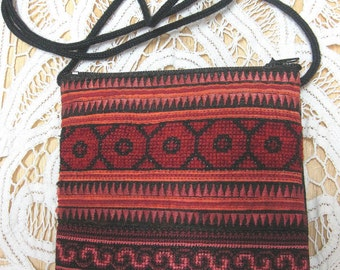 Thailand Hmong Embroidered Strap Purse