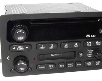 chevy gmc 05 to 09 truck radio cd player w aux input. Black Bedroom Furniture Sets. Home Design Ideas