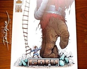 Comic Book   Gofu Part 1 of 6   Self-published   Sci-fi/Fantasy