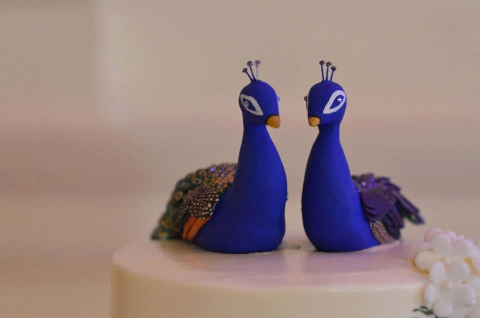 peacock wedding cake topper custom made peacock wedding cake topper 18161