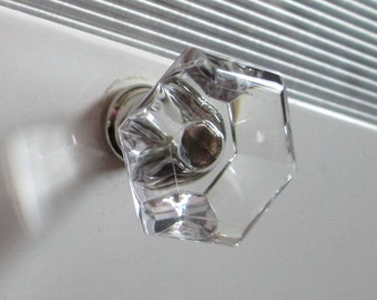 Perfect Crystal Glass Look Knobs Clear Dresser Knob Drawer Knobs Pulls Handles Cabinet  Knobs Acrylic Knob Pull