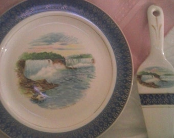 Niagara Falls plate made by cronin
