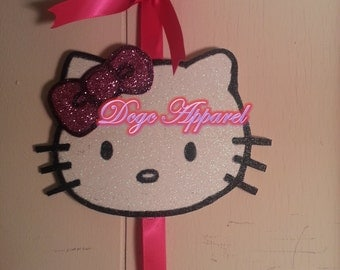 HELLO KITTY inspired  Hair Bow HOLDER