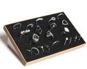Jewelry Organizer for Rings . Jewlery Display for Rings . Jewelry Display Stand // SO2035