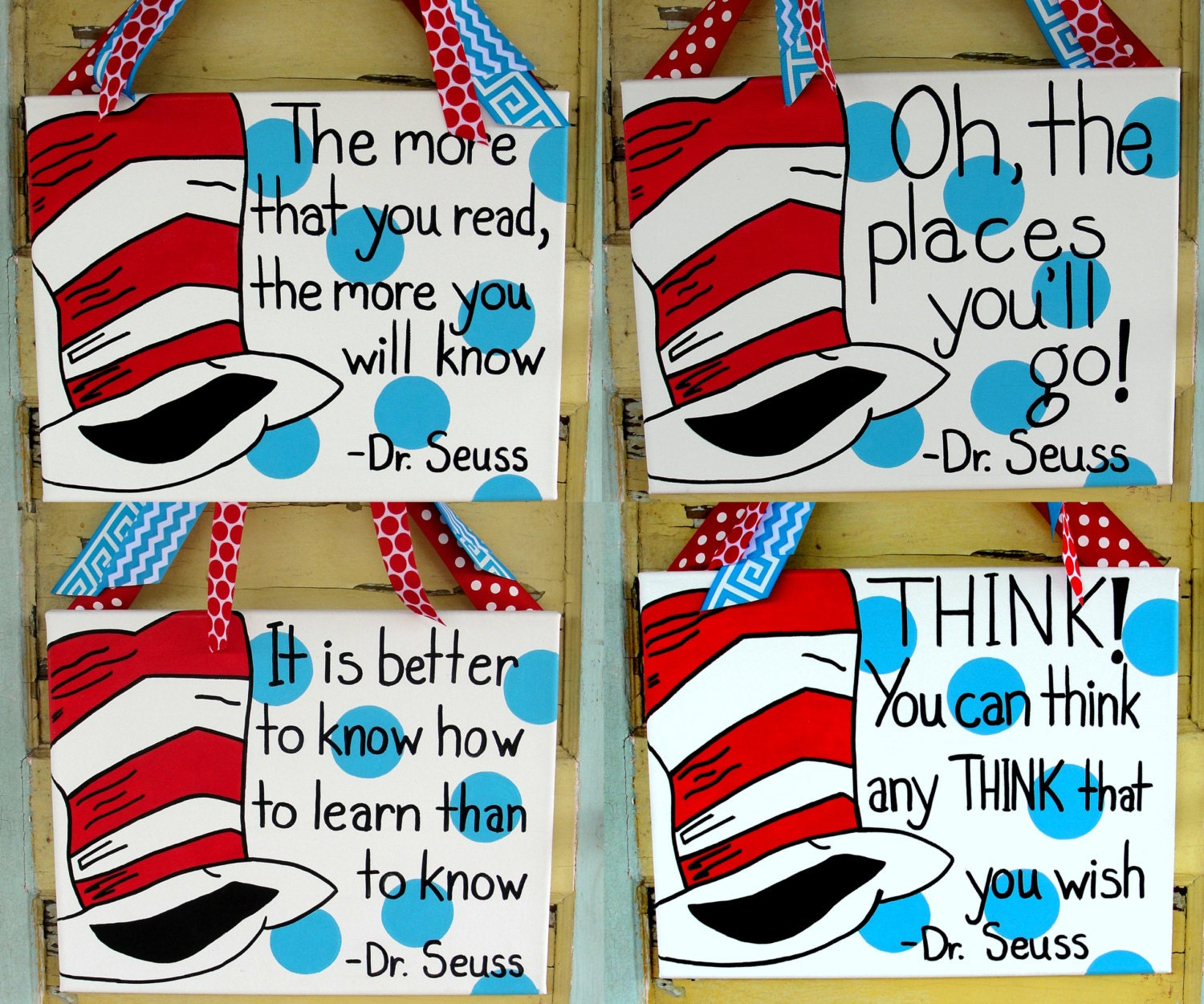 Dr Seuss Quote Canvas