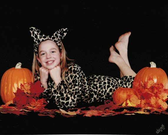 Leopard Cat Costume for Girls 6-8