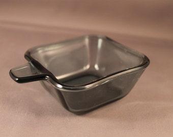 Wilhelm Wagenfeld tourmaline stacking glass ashtray Classic Bauhaus design WMF