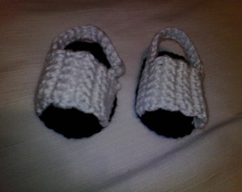Crochet Sandal , infant