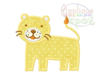 Lion Jungle Baby Girl 4x4 5x7 6x10 Applique Design Embroidery Machine -Instant Download File