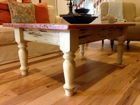 Items Similar To Pecky Cypress Coffee Table On Etsy