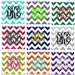 Chevron Pocket Iron On, Glitter Chevron Monogram, Chevron Pocket Square, Glitter Heat Transfer Iron on, Personalized Chevron,