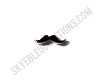 Mustache Floating Charm