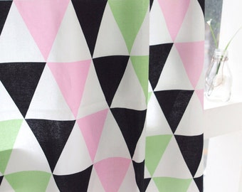 Cotton Fabric Big Triangle By The Yard