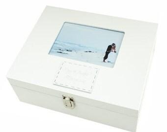 Large Wedding Wooden Photo Box
