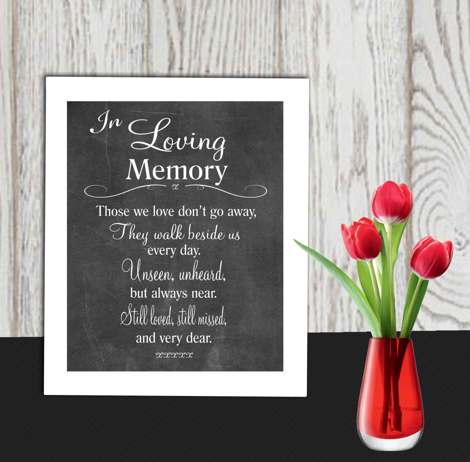 It's just a photo of Crafty In Loving Memory Free Printable