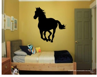 Galloping Horse Wall Decal Part 81
