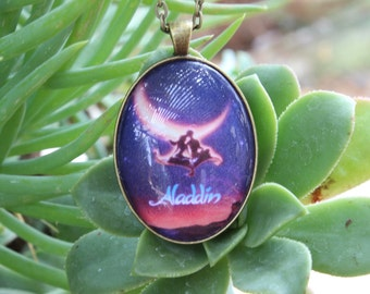 Disney Movie Poster Pendant--Aladdin