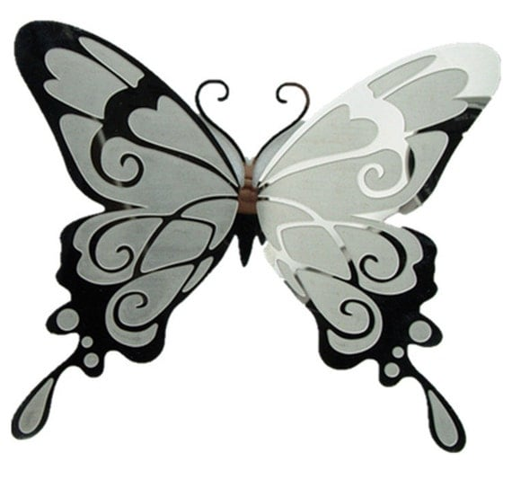24 3d Butterfly Wall Decor Ideas