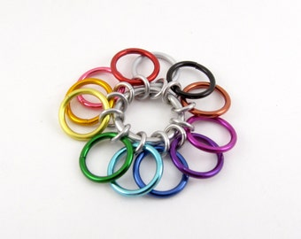Big Rainbow Row Counter - 12 Rings