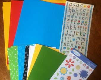 Mix & Match Large Paper Kit . Great Holiday Gift!