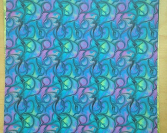 8.5x11 Electric Squiggles Paper