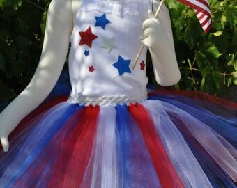 American Tutu, American skirt, Red White Blue tutu, Girls Tutu, Toddler Tutu,Tutu, Red White Blue skirt, 4th of July skirt, 4th of July tutu
