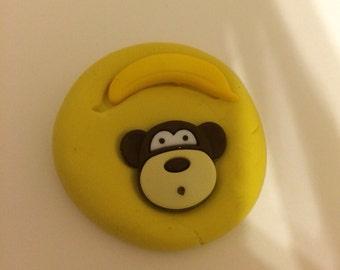 Monkey and banana mold