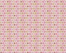 Quiltsy Destash Party Riley Blake Penny Lane Pink Circles Fabric