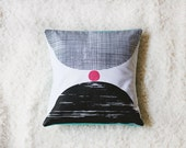 Serigraph hand Cushion cover.