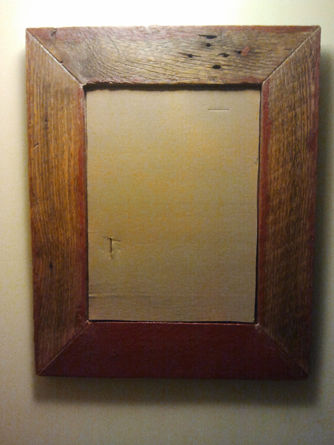 Barn Wood Mirror Rustic Home Decor: Unavailable Listing On Etsy
