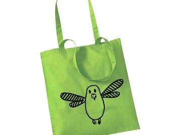 """Jute bag """"Birdi'"""