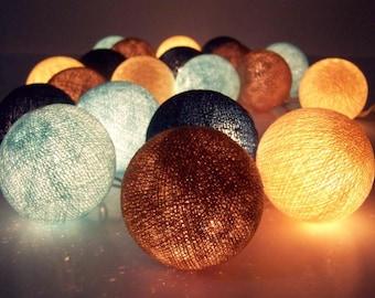 Fairy Lights Big Balls String Lights Cottonball Lights