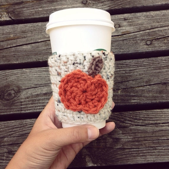 pumpkin cozy crochet coffee cozy coffee cozy pumpkin