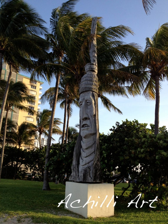 Ft. Lauderdale Statue- Photograph