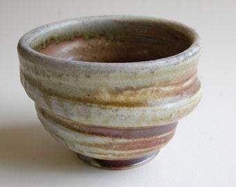 Wood Fired Ceramic Bowl