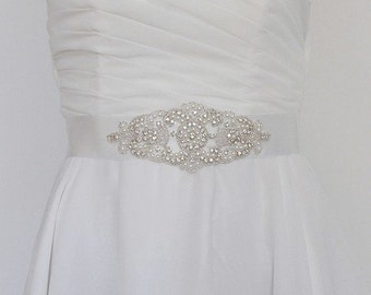 Wedding lace belt