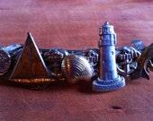 Eclectic Nautical Barrette