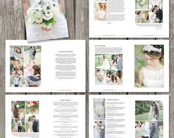 Wedding brochure etsy for Wedding photography magazine template