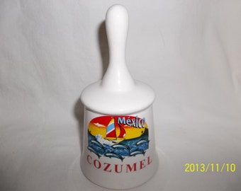 Cozumel Mexico - Caribbean Islands - Ceramic Bell