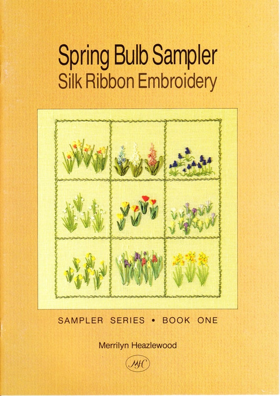 Ribbon embroidery books makaroka