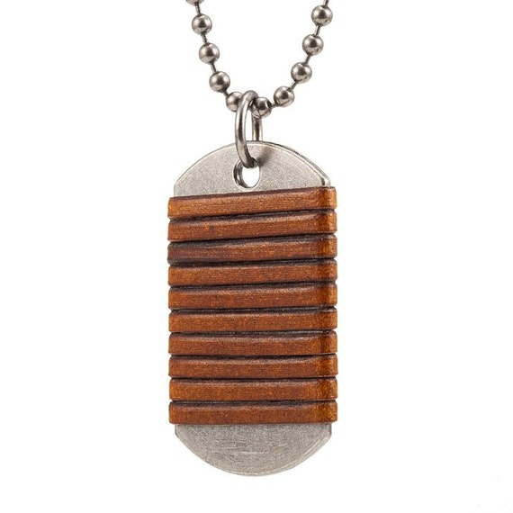 s camel brown leather necklace silver by