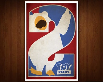 Toy Story 2 Poster (Multiple Sizes)