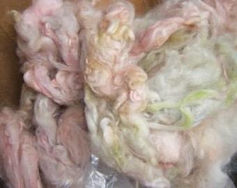 Raw alpaca fibre